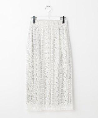 リバーレースハイウエストタイトスカート