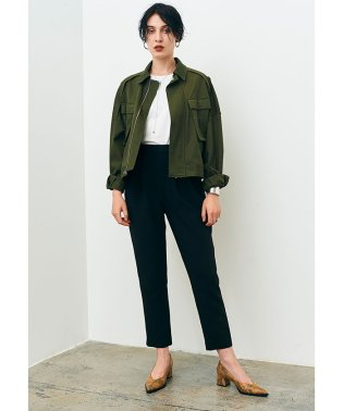 MILITARY WIDE BLOUSON
