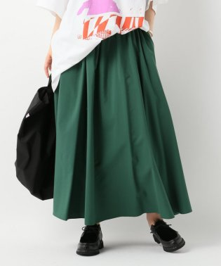 リンクルタフタマキシスカート