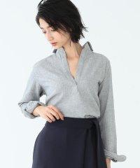ORIAN / ブラッシュ スキッパーシャツ