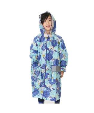 雨の森柄ランドコート