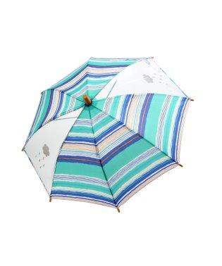 水彩ボーダー窓付き傘