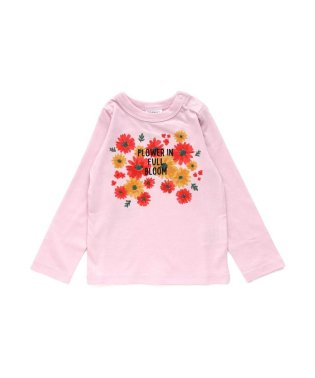 女児3色3柄長袖Tシャツ