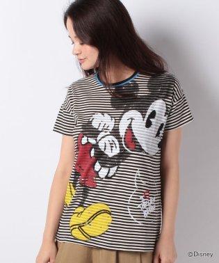 「Desigual/デシグアル」半袖ボーダーTシャツ