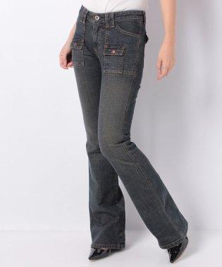 ミニポケット付きジーンズ