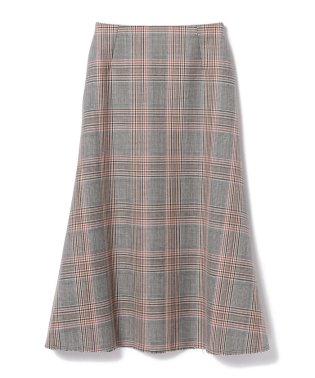 【カタログ掲載】【CLASSY.12月号掲載】Demi-Luxe BEAMS / チェック サイドフレアスカート