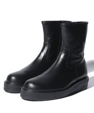 Rubber Side Zip Boots