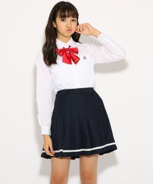 【卒服】リボンタイ付 ライン スカート