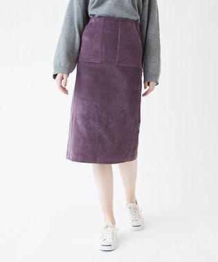 コーデュロイタイトミディアムスカート