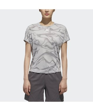 アディダス/レディス/W M4Tトレーニング 総柄Tシャツ