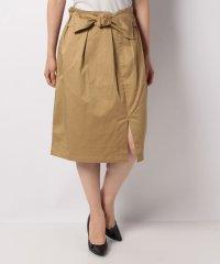 【WAREHOUSE】リボンスリットスカート