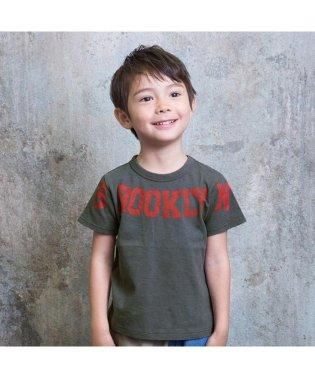 デカロゴプリントTシャツ