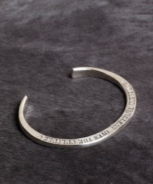 HARIM concept bangle Silver(SIDE STAMPS)