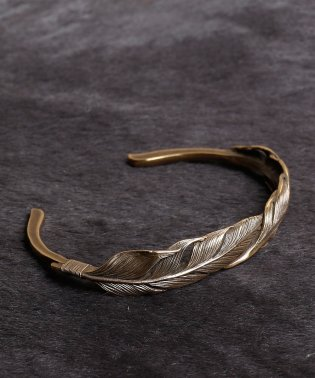 HARIM Double Feather Bangle BRASS