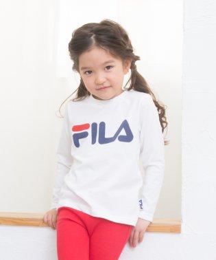 フィラ長袖ロゴTシャツ