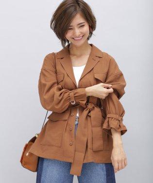 【WEB限定】袖ギャザーM65ジャケット