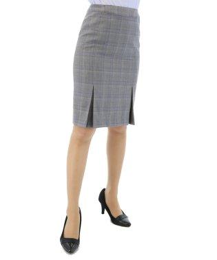 REDA グレーチェックタイトスカート セットアップ
