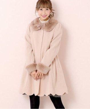 【限定カラー】angelスカラップノーカラーコート