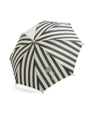ストライプ窓付き傘