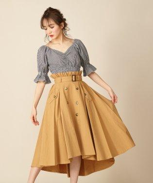 テールカットトレンチスカート