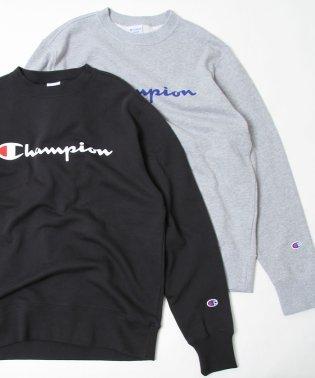 Champion(チャンピオン)ロゴプリントベーシッククルーネックスウェットシャツ(C3-H004)(一部WEB限定カラー)