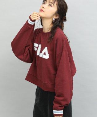 【FILA×ViS】裏毛ロゴショートプルオーバー