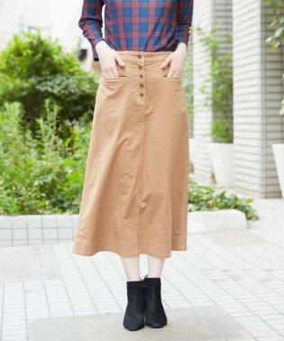 【後ろゴム】ストレッチツイルスカート