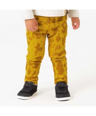 2柄4色ストレッチ保育園パンツ 10分丈