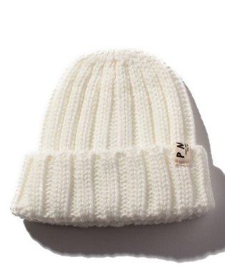 ミニロゴニット帽