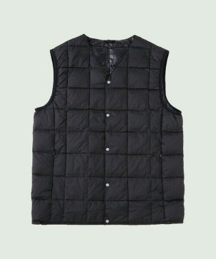 V NECK BUTTON DOWN VEST