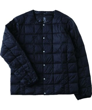 CREW NECK BUTTON DOWN JACKET