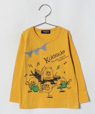 ロック長袖Tシャツ