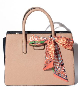【Pi ピーアイ】大人かわいいシンプルライン2WAYバッグ