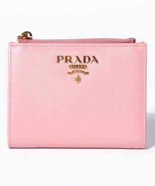 【PRADA】2つ折りコンパクト財布 / SAFFIANO METAL ORO 【PETALO】