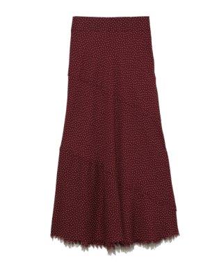 タチキリデザインフレアスカート