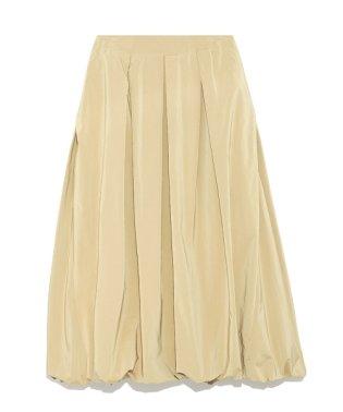 Tuck balloon skirt