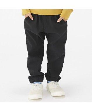 裾ゴムストレッチパンツ 9.5分丈