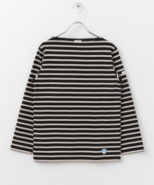 ORCIVAL COTTON LOURD フレンチバスクシャツ