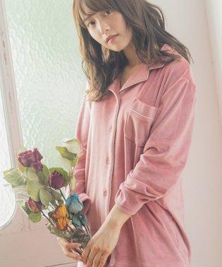 【Dita】パールシャギーシャツルームウェア上下セット
