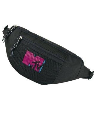 MTV[エムティービー]カラフルMTVロゴ メッシュポケット ボディバッグ