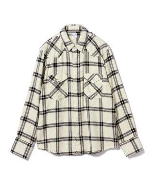 Wrangler × BEAMS / 別注 27MW Denim Western Shirts 18FW