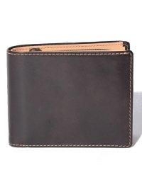 【HIDEO WAKAMATSU】 セイントII 牛革 二つ折り 小銭入れ付き 財布