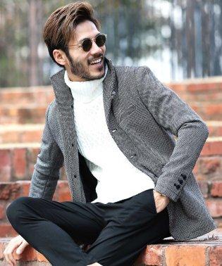 メルトン マリンコート & イタリアンカラージャケット / ジャケット メンズ ウール コート ショート丈