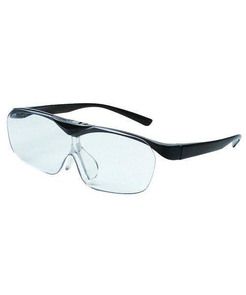 (BACKYARD/バックヤード)拡大鏡 ルーペ スマートアイFSL−01眼鏡型はね上げタイプ/ユニセックス ダークグレー