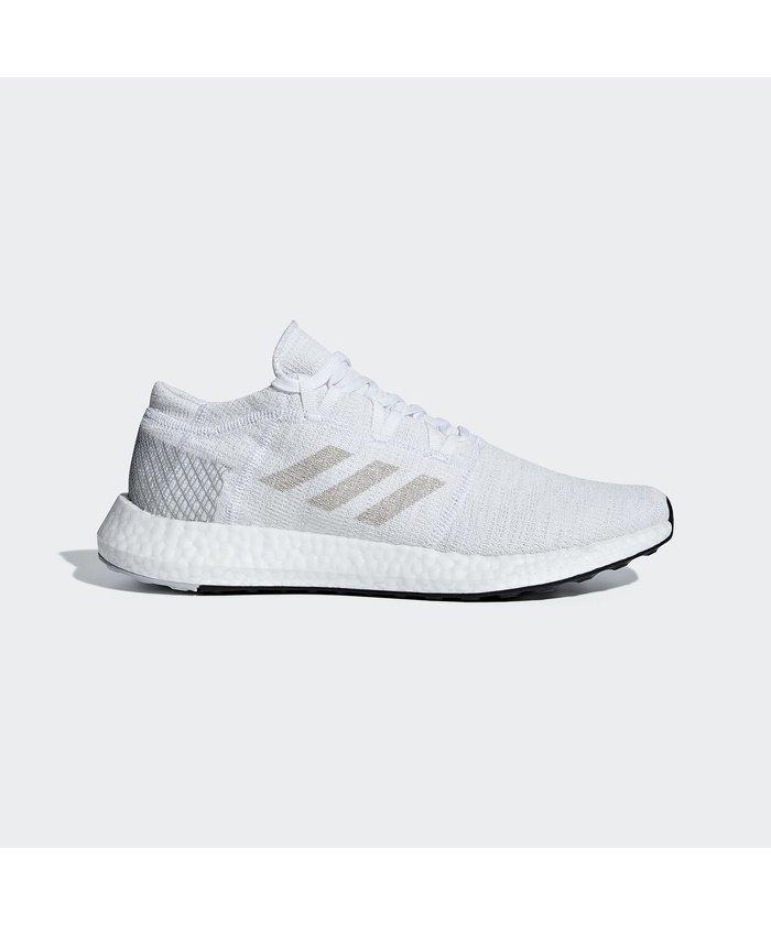 (adidas/アディダス)アディダス/メンズ/PUREBOOST GO/メンズ ランニングホワイト/グレーワンF17/グレーTWOF17
