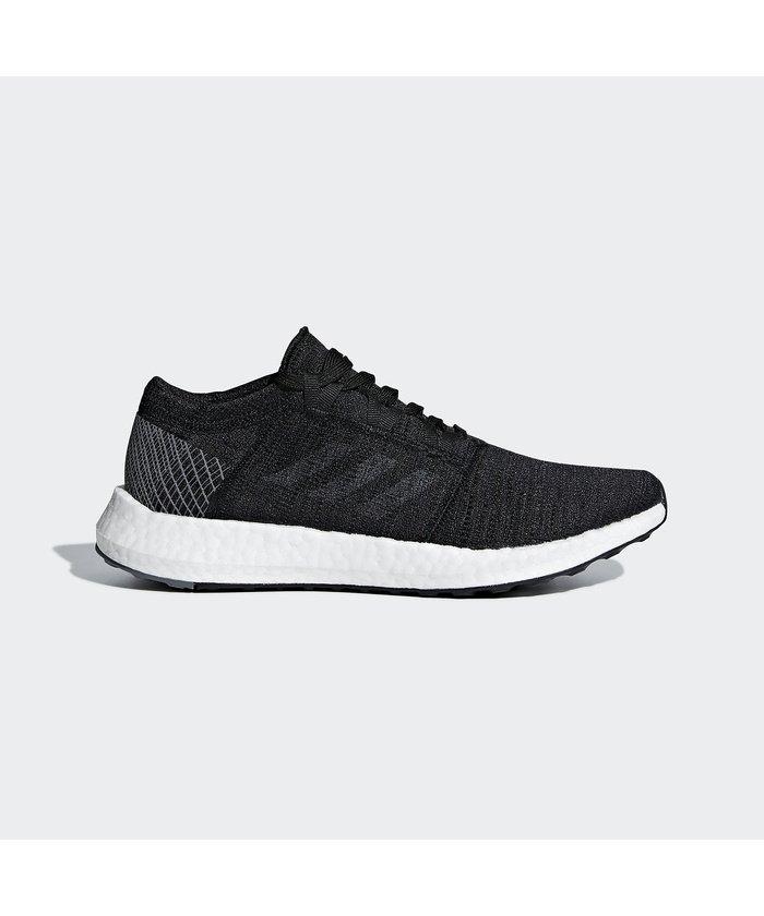 (adidas/アディダス)アディダス/レディス/PUREBOOST GO W/レディース コアブラック/グレーフォアF17/グレーフォアF17
