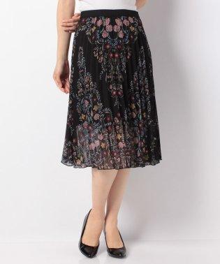「Desigual/デシグアル」フラワープリントプリーツスカート