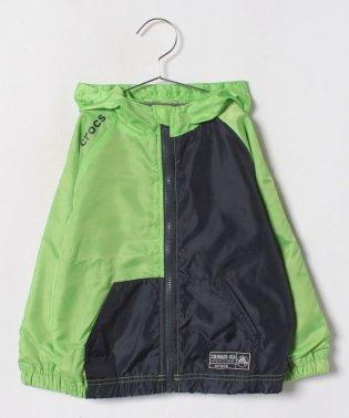 CROCSカラー切り替えジャケット