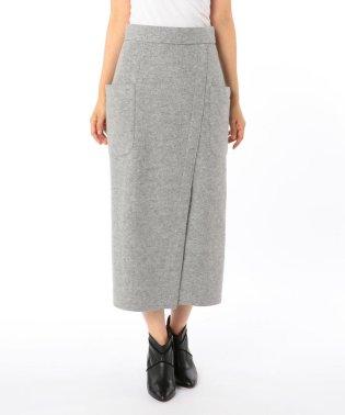 [新色追加]ブークレーポケット付タイトスカート