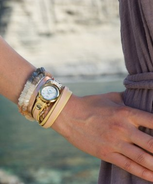LA MER COLLECTIONS WATCH + BRACELET PAIRINGS 腕時計 LAMER801 レディース